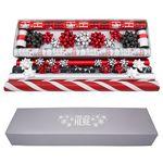 Custom Designer Gift Wrap Set w/Coordinated Bows & Ribbon