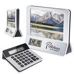 Custom Calculator/Picture Frame/Clock, 3-in-1 Combo