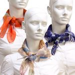 Custom Chiffon Square Fashion Scarves
