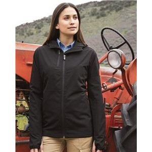 Dri Duck Women's Ascent Hooded Soft Shell Jacket