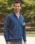 Custom Adidas Golf ClimaLite 3 Stripes French Terry Quarter Zip Pullover Jacket