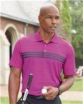 Custom Adidas Golf Puremotion Three Stripes Chest Sport Shirt (S-XL)