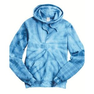 Dyenomite Apparel Tie-Dyed Cyclone Hooded Sweatshirt