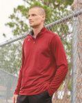 Custom Champion Vapor Quarter Zip Pullover T-Shirt