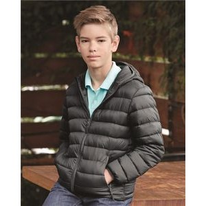 Weatherproof® 32 Degrees Youth Packable Hooded Down Jacket
