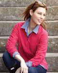 Custom Dri Duck Ladies' Fusion 1/4 Zip Nano Fleece Pullover Sweatshirt