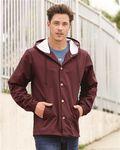 Custom Independent Trading Co. - Water Resistant Hooded Windbreaker Jacket