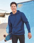 Custom Independent Trading Co. Poly-Tech Hooded Pullover Sweatshirt