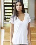 Custom Alternative Women's Slink Jersey V-Neck Tee Shirt