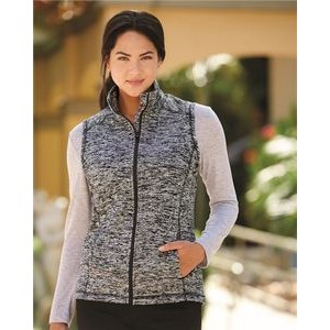 J. America Women's Cosmic Fleece Vest