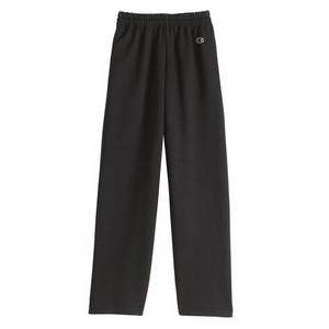 Champion Eco® Youth Open Bottom Sweatpants w/Pocket