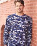 Custom Badger Sport B-Core Digital Long Sleeve T-Shirt