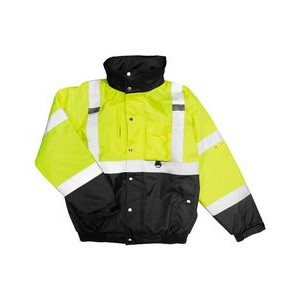 ML Kishigo® Ripstop Bomber Jacket (Lime)