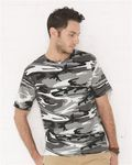 Custom Code Five Camouflage Short Sleeve T-Shirt
