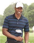 Custom Adidas Golf Puremotion Textured Stripe Sport Shirt (S-XL)
