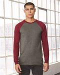 Custom Bella + Canvas Baseball Jersey T-Shirt (S-XL)