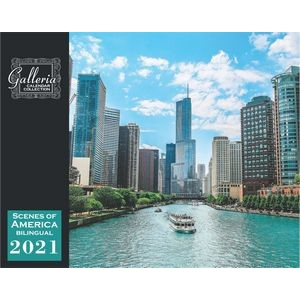 Galleria Wall Calendar 2020 Scenes Of America (English/Spanish) (Low Price )