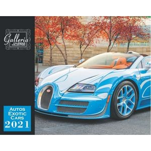 Galleria Wall Calendar 2020 Exotic Cars (Spanish/English) (Low Price )