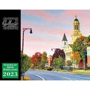Galleria Wall Calendar 2020 Scenes Of New England (Low Price )