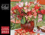 Custom Galleria Wall Calendar 2018 Flowers and Garden (Low Price )