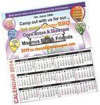 Custom Business Card Calendar Magnet (3-5 Days)