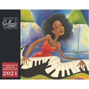 Galleria Wall Calendar 2020 Celebration of African-American Art (Low Price )