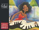 Custom Galleria Wall Calendar 2019 Celebration of African-American Art (Low Price )