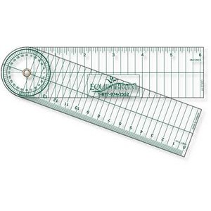".040 Clear Plastic Stock Shape Goniometer (1.75""x12.25"")"