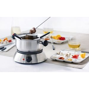Dido 3-in-1 Electric Fondu Set from Trudeau Stainless Steel