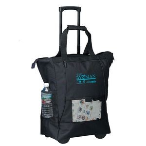 On the Go Rolling Tote Bag