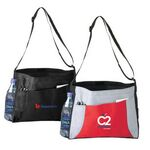 Custom Brief Tote Bag w/ Adjustable Shoulder Strap