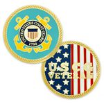Custom U.S. Coast Guard Veteran Coin