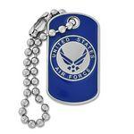 Custom U.S. Air Force Dog Tag Pin