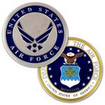 Custom U.S. Air Force Commemorative Coin