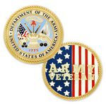 Custom U.S. Army Veteran Coin