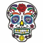 Custom Day of the Dead Lapel Pin