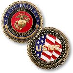 Custom U.S. Marine Corps Veteran Coin