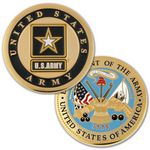 Custom U.S. Army Commemorate Coin