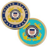 Custom U.S. Coast Guard Coin