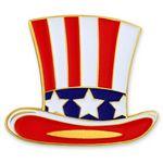 Custom Uncle Sam Hat Pin