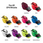 Custom Fox 40 EP4 Pealess Whistle
