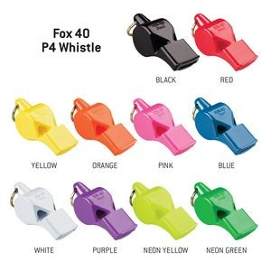 Fox 40 P4 Pealess Whistle