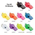 Custom Fox 40 P4 Pealess Whistle