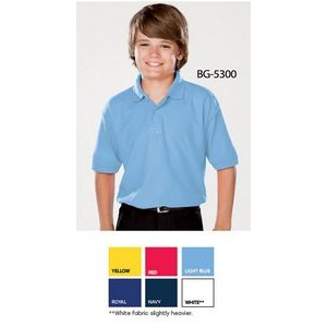 Youth Value Wicking Polo Shirt