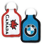 Custom Embroidered Laser Cut Key Tags (2-1/2