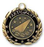 Custom QUIKturn Cheerleading 3D Medallion in 3 or 5 Day Production