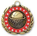 Custom QUIKturn Basketball 3D Medallion in 3 or 5 Day Production