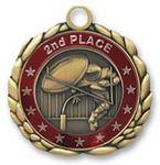 Custom QUIKturn Football 3D Medallion in 3 or 5 Day Production
