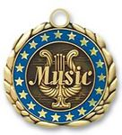 Custom QUIKturn Music 3D Medallion in 3 or 5 Day Production
