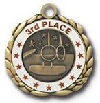 Custom QUIKturn Gymnastics 3D Medallion in 3 or 5 Day Production